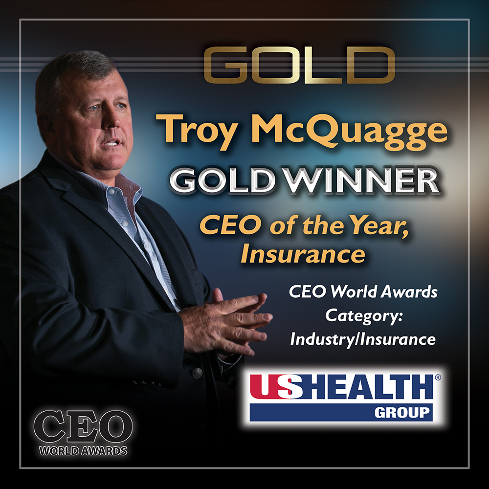 Troy McQuagge Honored as Gold Winner in the Annual 2017 CEO World Awards® for CEO of the Year